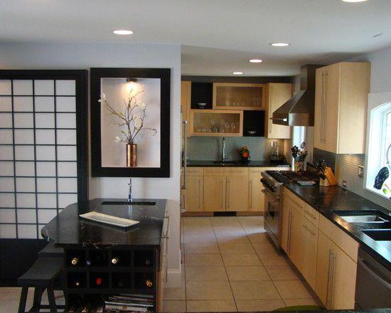 Holt - asian - kitchen - portland maine - Annie K Designs LLC.