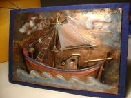 Bronze Fishing Boat