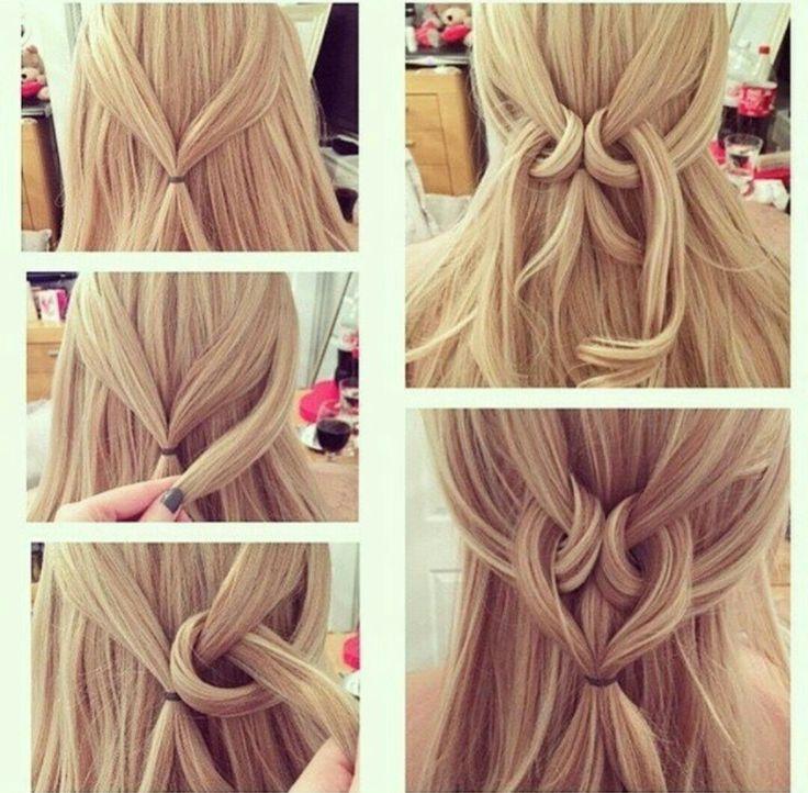 Einfache Frisuren: Für langes und mittleres Haar …