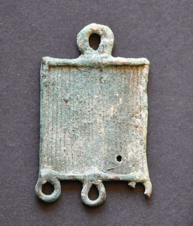 Amlash bronze pendant 1, 1st millenium B.C. Private collection