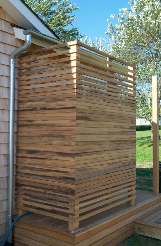 Best 25+ Outdoor shower enclosure ideas on Pinterest