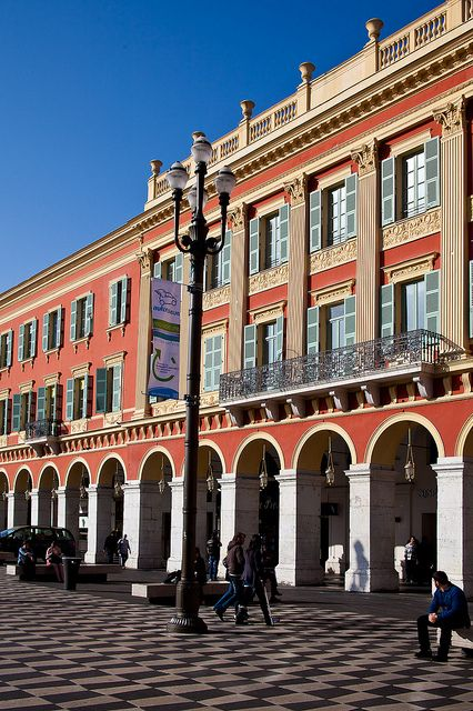 1000 images about nice france on pinterest beautiful landscapes balconies and the nice - Place massena nice ...