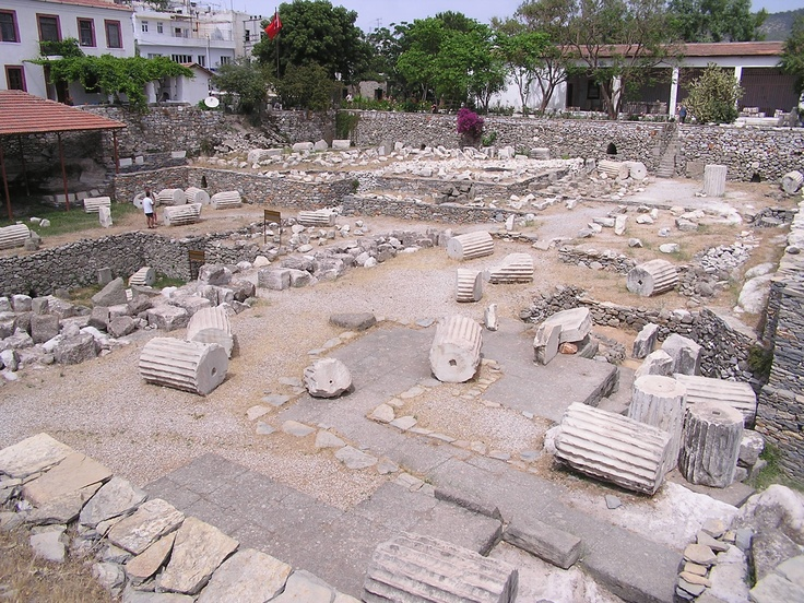 The Mausoleum at Halicarnassus ruins ( Old ) 7