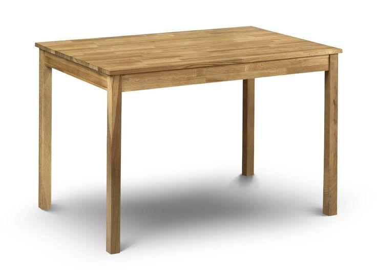 Julian Bowen Coxmoor Oak Dining Table Table de salle à manger Bois: Amazon.fr: Cuisine & Maison