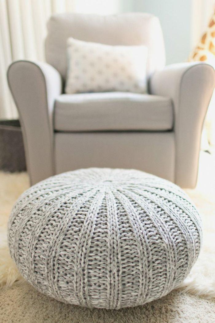 17 best ideas about poufs on pinterest poof moroccan pouf and floor cushions - Fabriquer un fauteuil ...