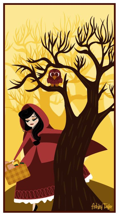 Little Red Riding Hood by LoveAshleyDesigns on Etsy, $15.00