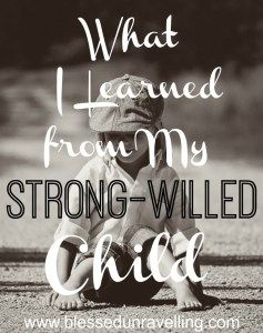 Good parenting is the goal for most moms and dads. We want to teach our children important truths about God and living well. But the tables were turned when I learned more about myself and God through an unlikely teacher... my strong-willed child.