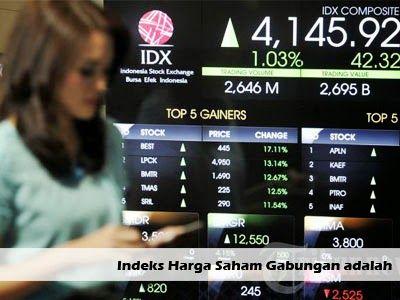 Pengertian Indeks Harga Saham Gabungan Adalah >> http://goo.gl/2KaH3W