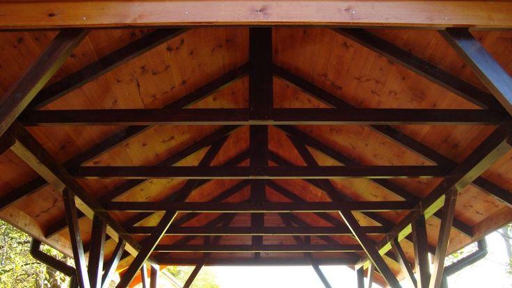 WIATA GARAŻOWA ALTANA drewniana drewna garaż
