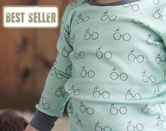 Organic Baby Pajama Sets - Toddler Pajamas / Harry Potter Pajamas and Leggings