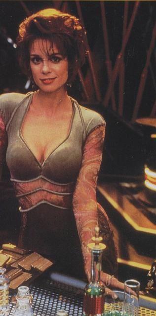 "Chase Masterson as Leeta on ""Star Trek: Deep Space Nine."""