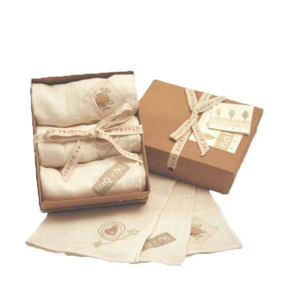 Natures Purest - organic cloth diapers in gift box 3 pcs. - PetitePeople, Cloth Diapers