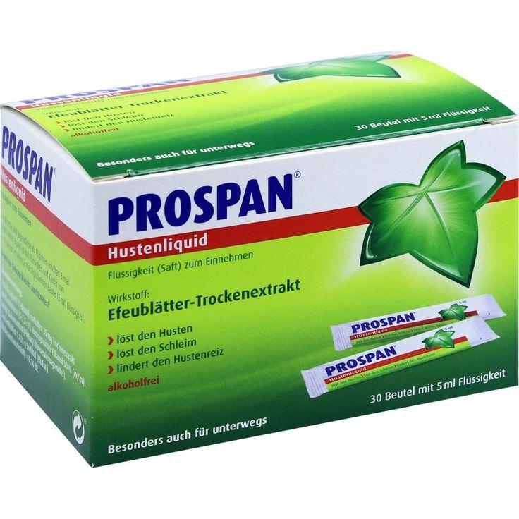 PROSPAN Hustenliquid - Hustenlöser + Schleimlöser: Prospan Hustenliquid ist ein pflanzlicher Hustenlöser, Schleimlöser, Hustenstiller mit…