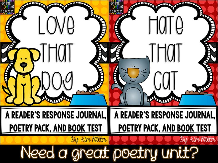 I love these books!  You can find Reader's Response Journals for both in my store!  http://www.teacherspayteachers.com/Store/Kim-Miller-24