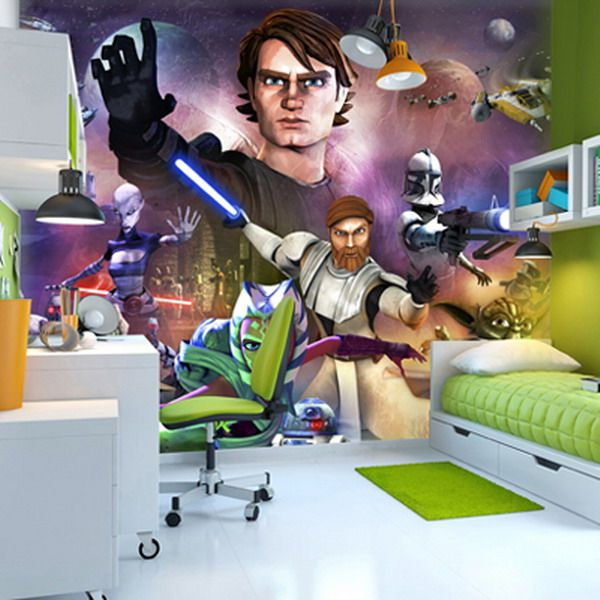 Star Wars Wall Murals Bedroom Decorating Ideas Part 72