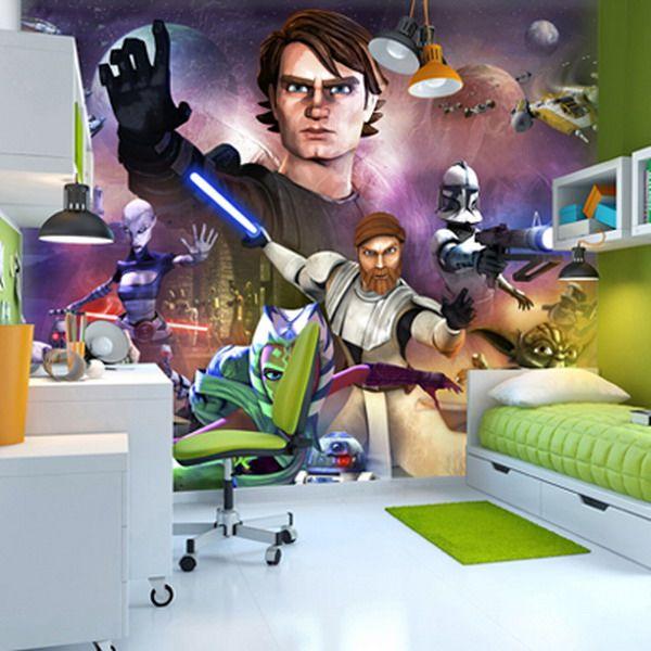 39 best Boyu0027s Star Wars Bedroom images on Pinterest Star wars - star wars bedroom ideas