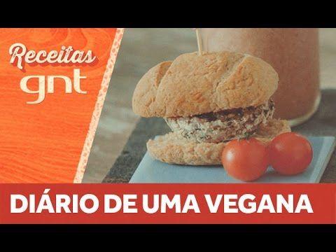 Receita de mini hambúrguer de shitake, milkshake vegano, catchup vegano e batata assada   Alana Rox - YouTube