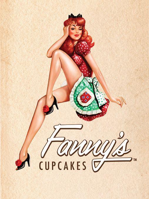 cupcake pin up girl