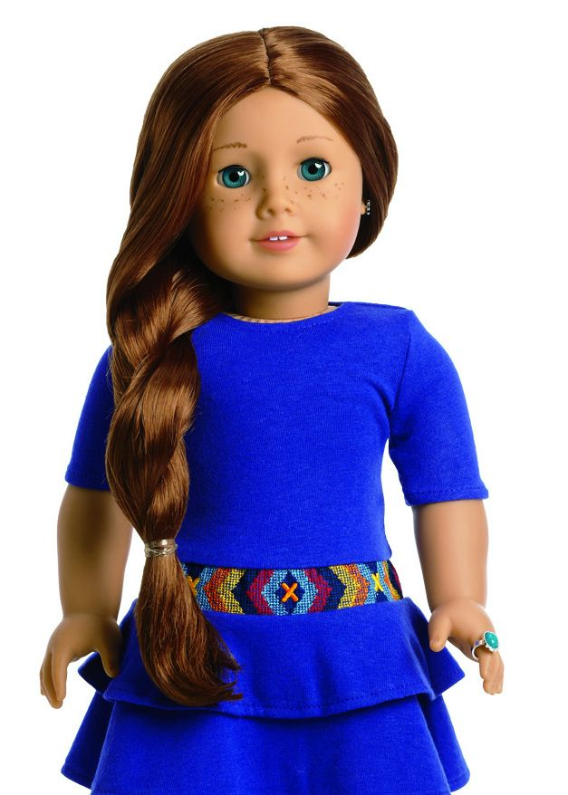 Meet the New American Girl Doll of the Year: Saige!    She is from Albuquerque N.M    How funny is that
