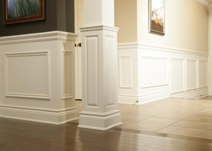 72 best images about paneling molding ideas on pinterest for Colonial trim molding