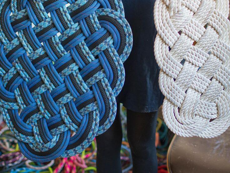 Small Killigrew Sail Rope Mat on AHAlife