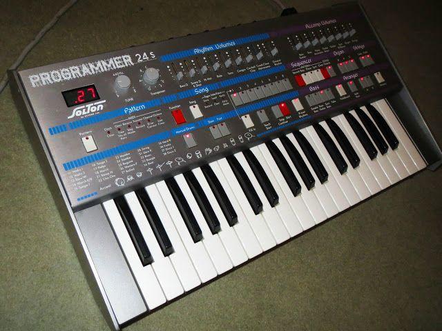 MATRIXSYNTH: Solton Programmer 24S Italo Disco Keyboard Synth w...