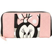 Disney Minnie quilted polka dot wallet