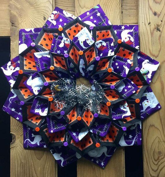 Www Fotoventasdigital Com Diy Burlap Wreath That Folding: Halloween Fold'n Stitch Wreath