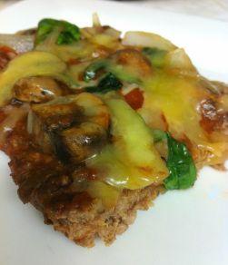 """Meatza"" Ground Beef Pizza (Paleo, Grain Free, Gluten Free) – #Beef #Free #Glute…"