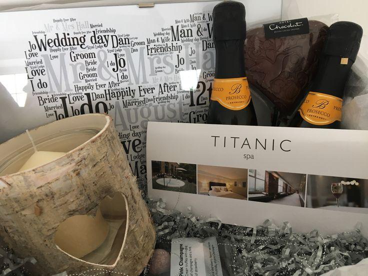 Wedding gift hamper - spa treat gift