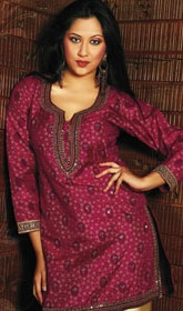 Cute pink Indian tunic
