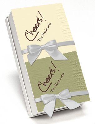 Cheers Calligraphy Hostess Napkin Gift Set: Calligraphy Hostess, Hostess Napkin, Gifts Contest, Thanksgiving, Cheers Calligraphy, Napkin Gift, Hostess Gifts