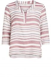 Gestreepte blouse   Anna