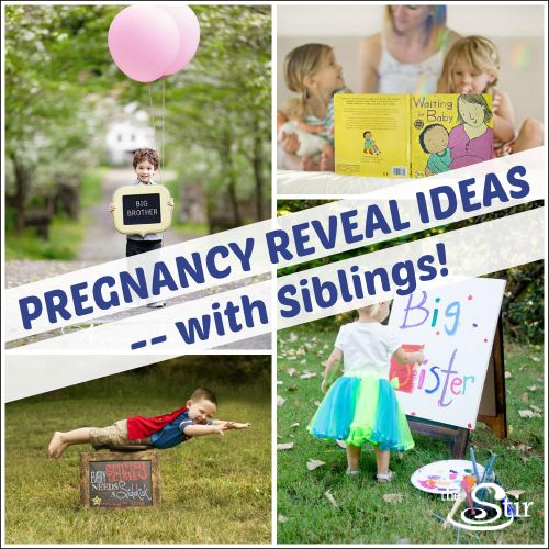 Big-siblings-to-be won't be able to resist getting in on the pregnancy reveal action with these adorable ideas. There's enough room for the whole family! http://thestir.cafemom.com/pregnancy/186131/16_sweet_ways_to_get