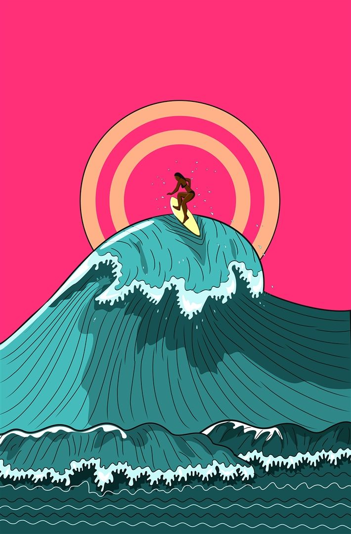 Surf Bum  Vinay Pateel (India) via @Curioos