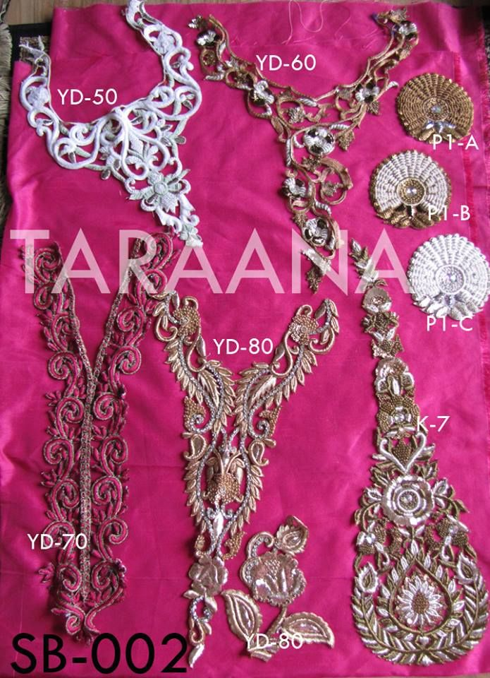 Best saree borders by taraana embroidery images on