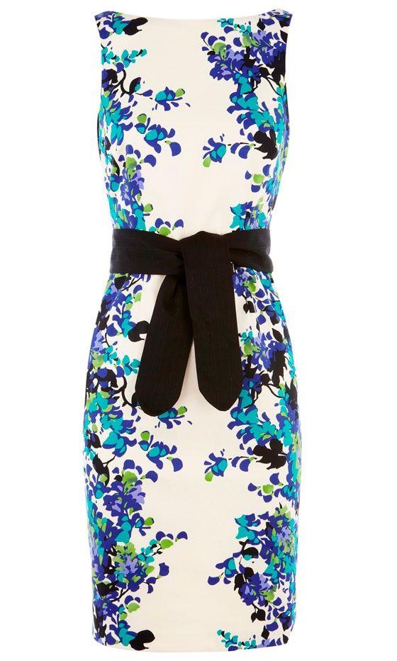 ♥: Summer Dresses, Floral Prints, Black Belt, Prints Shift, Beautiful Dresses, The Dress, Shift Dresses, Work Dresses, Floral Dresses