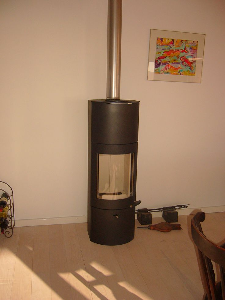 Austrian woodburner whichs keeps the house warm in winter !