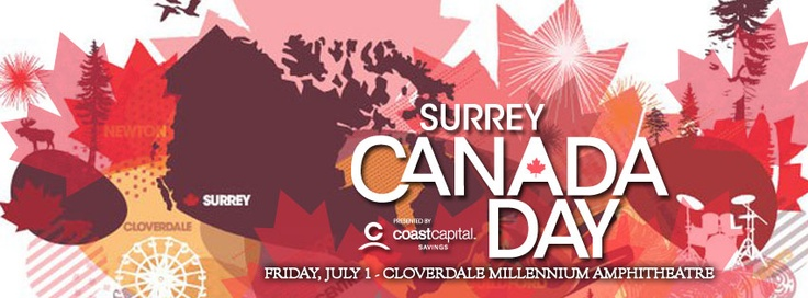 Be sure to check out the fantastic Canada Day celebrations at Cloverdale Amphitheatre on July 1st! Sam Roberts Band, Hannah Georgas  more!