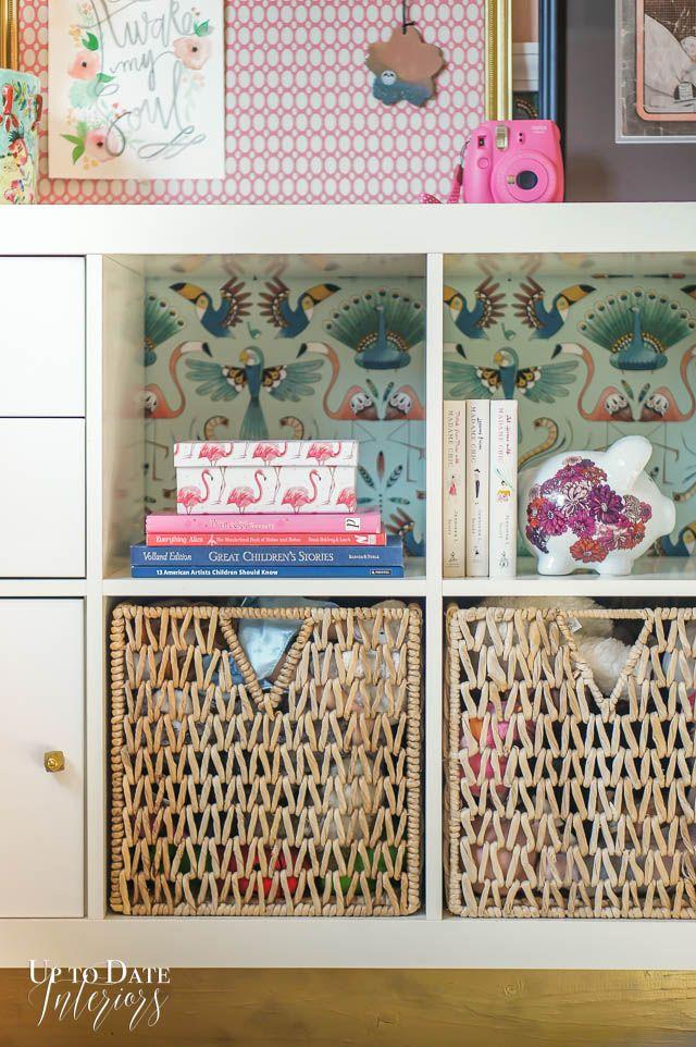 A Beautiful Boho Vintage Bedroom Makeover For A Girl Wohnen Ikea Boho Vintage