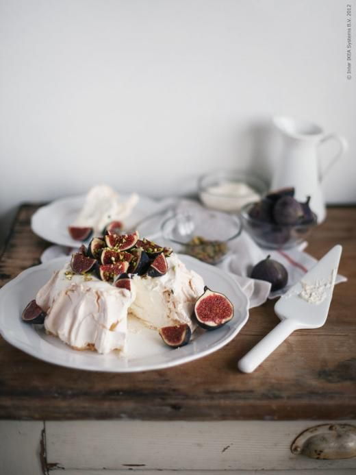 Gästbloggare: Pavlova med färska fikon | Redaktionen | inspiration från IKEA