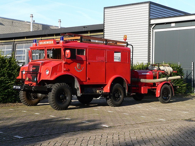 Chevrolet WWII CanadianTruck used by the fire dep.Veenendaal,NL