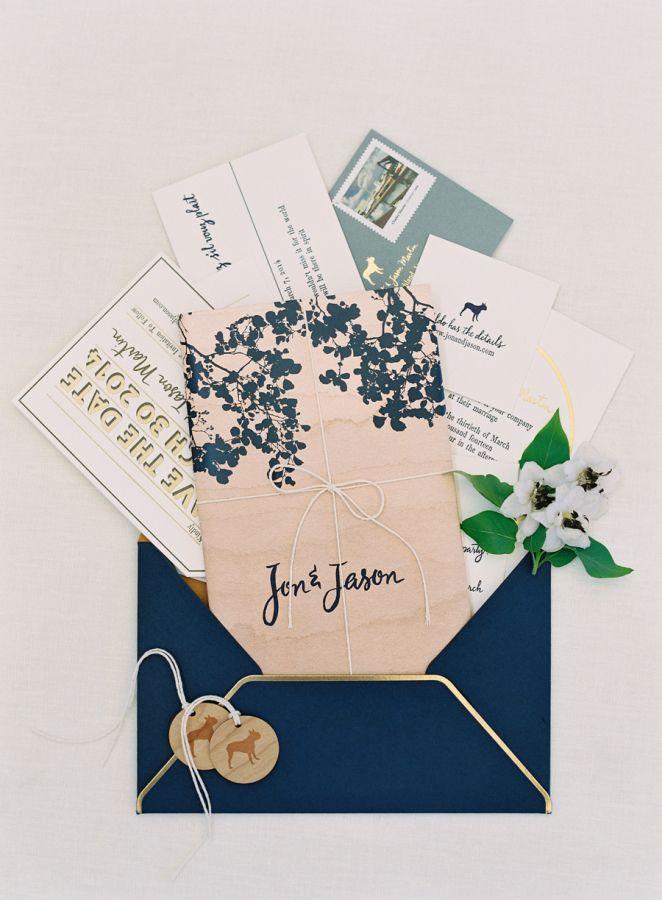 Navy blue u0026 gold paper suite perfection