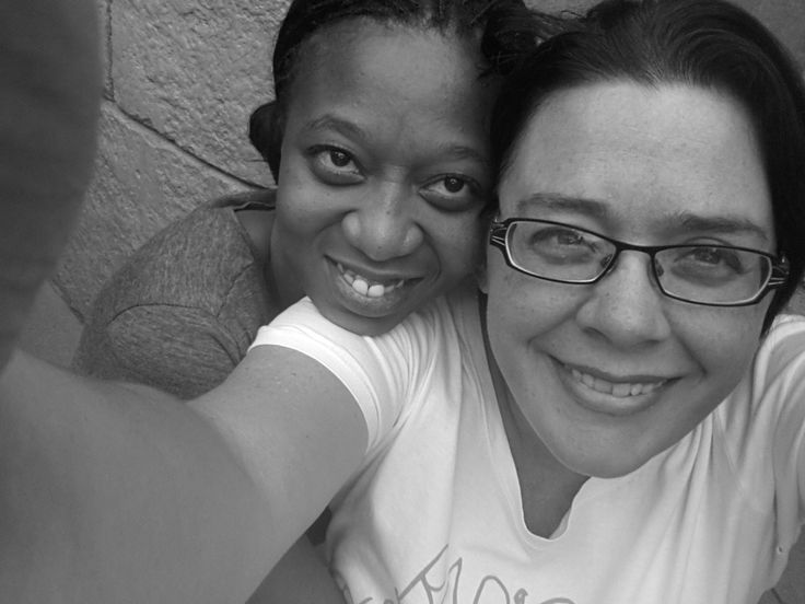 Andrea and Thandi