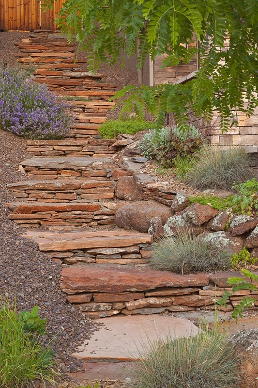 walkways | Paths, Walkways | Kaibab Landscaping | Flagstaff Landscaping Company ...