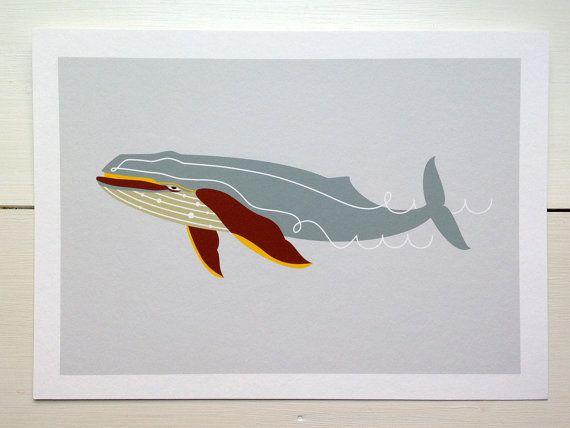 Humpback Whale via Etsy