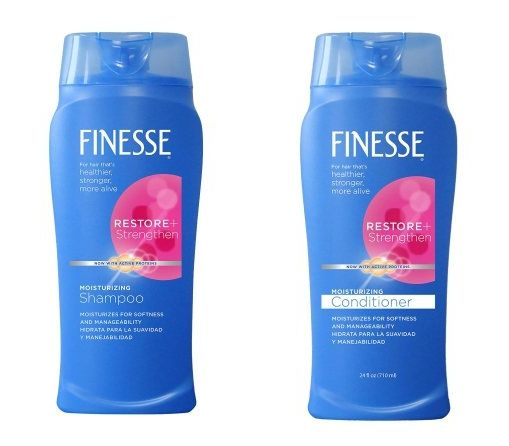 Kim Kardashian's Favorite Beauty Products Ever - Finesse Restore+Strengthen Moisturizing Shampoo and Conditioner