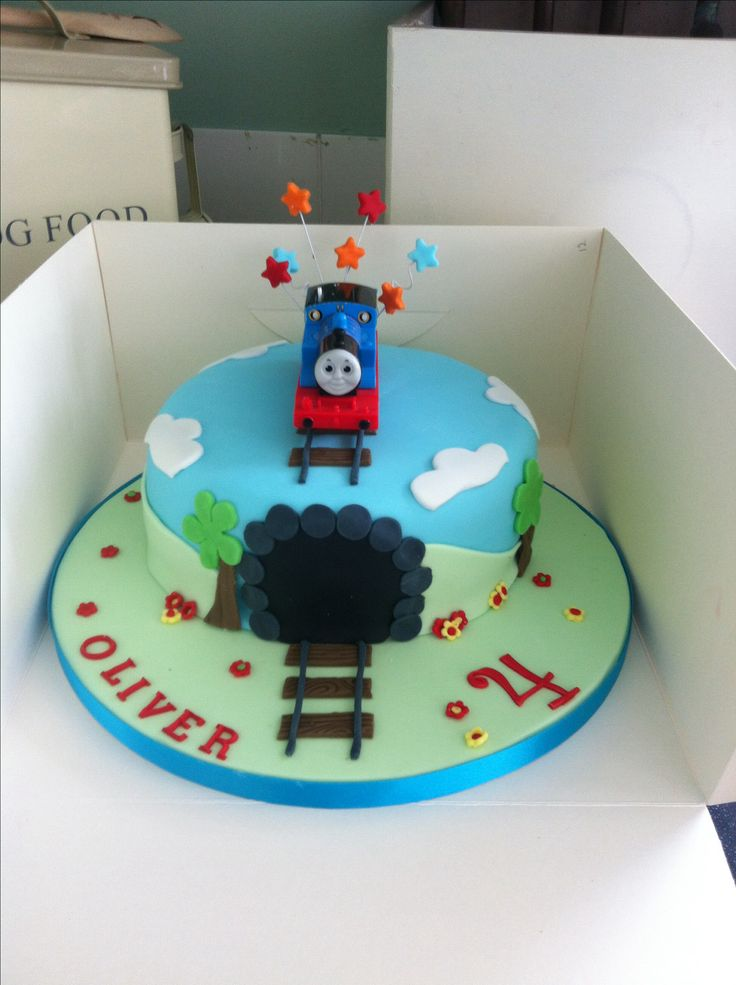 Thomas The Tank Engine Cake Ribbon