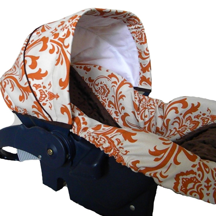 Texas Longhorn Infant Car Seat Covers