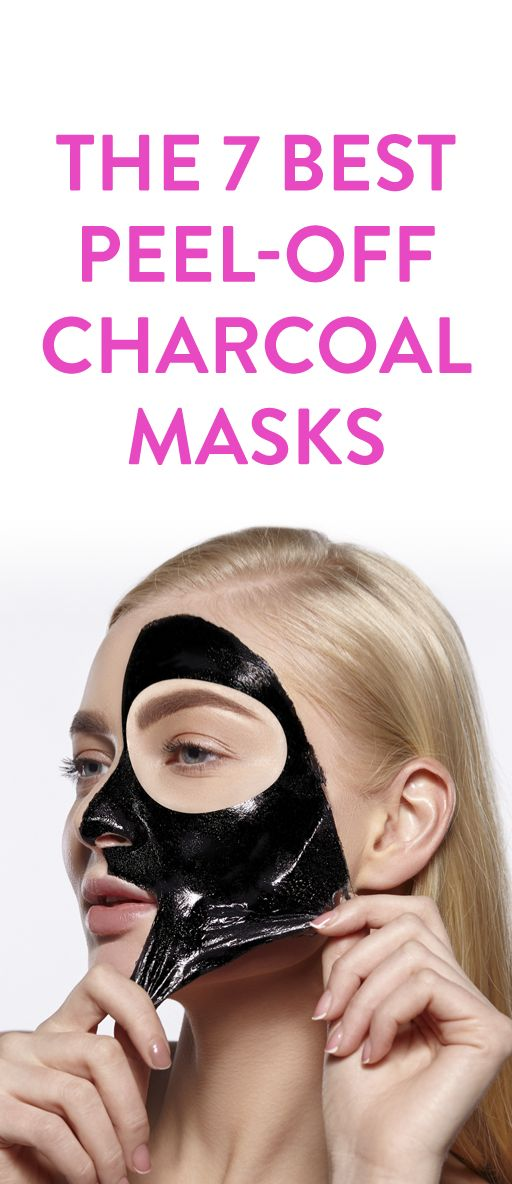 The 7 Best Peel-Off Charcoal  Masks